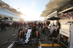 La Sahara Force India F1 VJM08 di Sergio Perez, Sahara Force India F1 sulla griglia