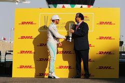 刘易斯·汉密尔顿,梅赛德斯车队,获得DHL最快圈速奖