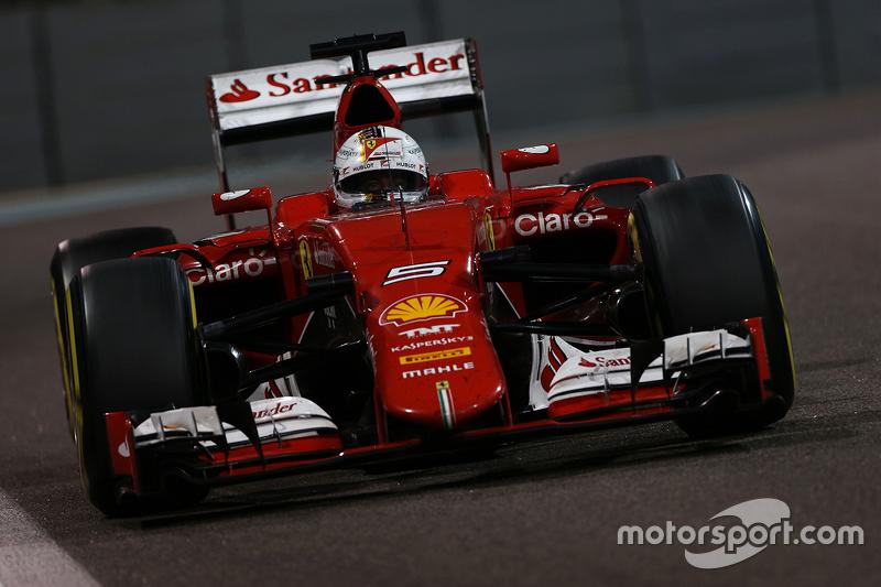 Себастьян Феттель, Ferrari SF15-T, 2015 год
