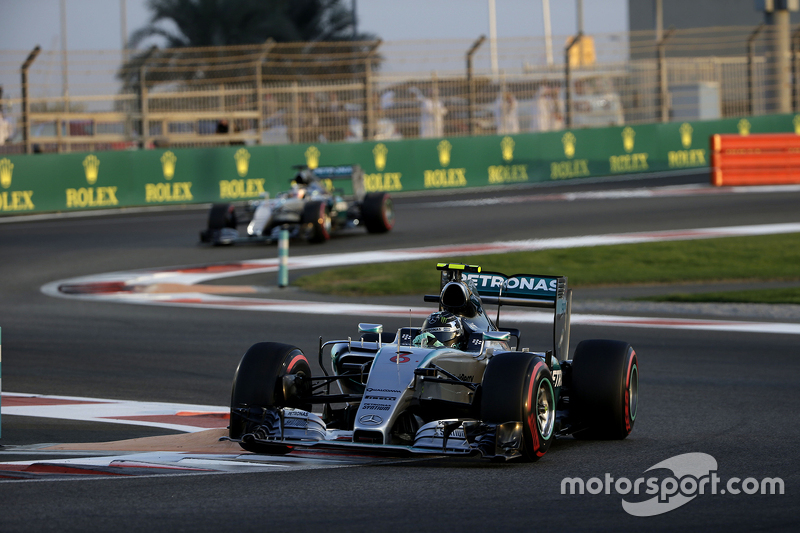 2015 Abu Dhabi Grand Prix (Yas Marina) vs Rosberg (0.377s)