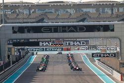 2. Yarış start gridi