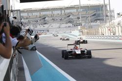 2015 GP3 champion Esteban Ocon, ART Grand Prix