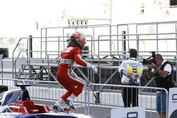Race 2 second place Antonio Fuoco, Carlin