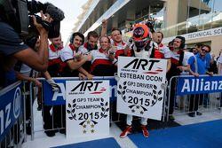2. Yarış üçüncü ve 2015 GP3 şampiyonu Esteban Ocon, ART Grand Prix