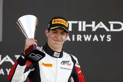 Race 2 third place and 2015 GP3 champion Esteban Ocon, ART Grand Prix