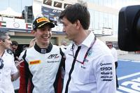 2015 GP3年度冠军 埃斯特班·奥孔,ART GP车队,与托托·沃尔夫