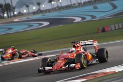 Sebastian Vettel and Kimi Raikkonen, Ferrari SF15-T