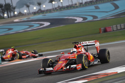Sebastian Vettel et Kimi Raikkonen, Ferrari SF15-T