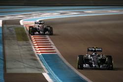 Nico Rosberg and Lewis Hamilton, Mercedes AMG F1 W06
