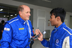 Hans-Joachim Stuck with Karthik Tharani