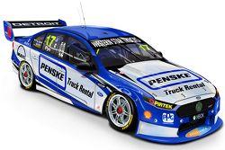 Nuova livrea per Scott Pye, DJR Penske Racing
