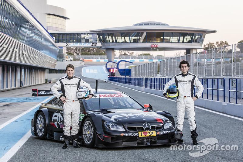 Sebastian Asch und Luca Ludwig, Mercedes-AMG DTM Team