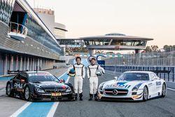 Sebastian Asch et Luca Ludwig, Mercedes-AMG DTM Team