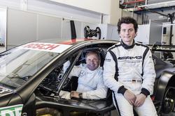 Luca Ludwig und Klaus Ludwig, Mercedes-AMG DTM Team