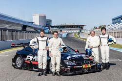 Sebastian Asch, Luca Ludwig, Klaus Ludwig und Roland Asch, Mercedes-AMG DTM Team