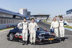 Sebastian Asch, Luca Ludwig, Klaus Ludwig, Roland Asch, Mercedes-AMG DTM Team