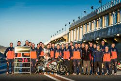 Mika Kallio, KTM with the team
