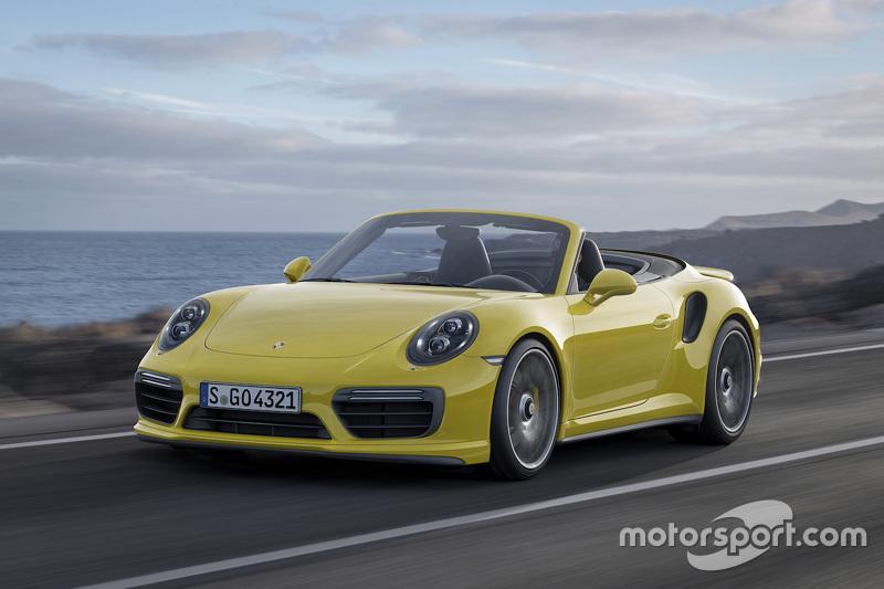 Der neue Porsche 911 Turbo S Cabriolet