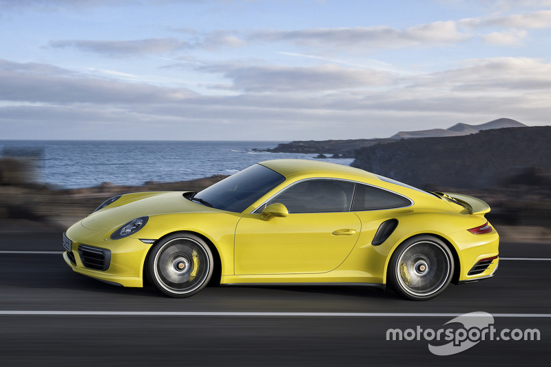 Der neue Porsche 911 Turbo S Coupé