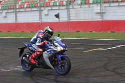 Jorge Lorenzo, Yamaha Factory Racing, mit der Yamaha YZF-R3