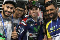 Хорхе Лоренсо, Yamaha Factory Racing с фанатами