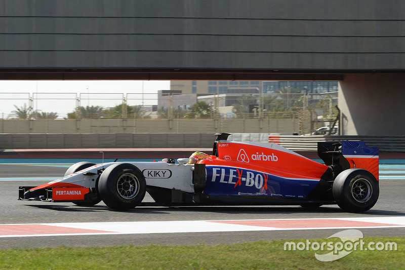 2015: Manor MR03B Ferrari, Formula 1
