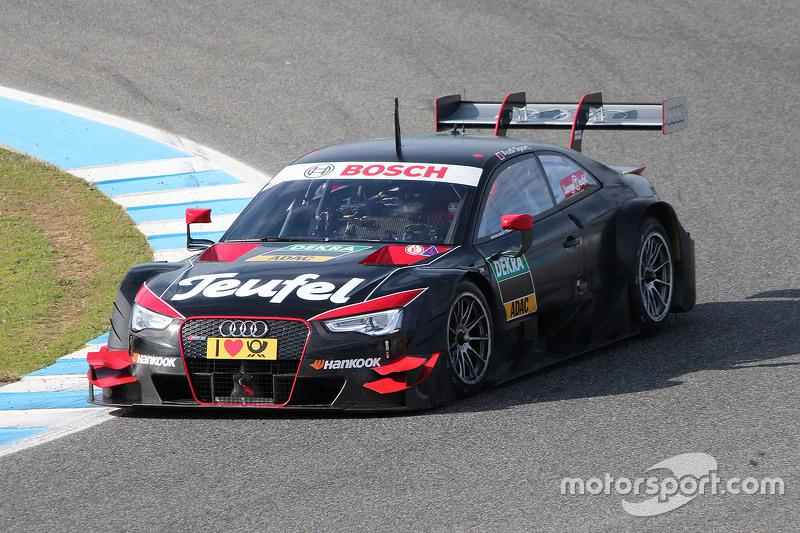 Test del Audi RS 5 DTM