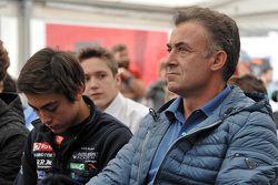 Giuliano Alesi e suo padre Jean Alesi