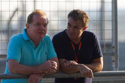 Jonathan Palmer and Jean Alesi