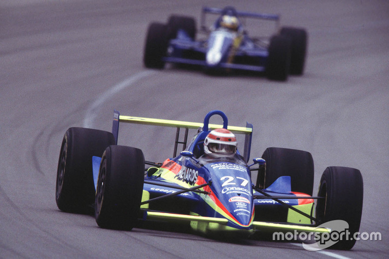 1992: Crash during Indy 500 practice