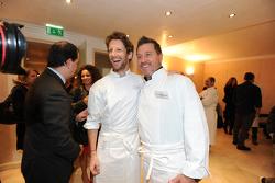Romain Grosjean et Pascal Olmeta