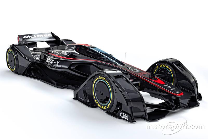 McLaren MP4-X Concept (ontworpen in 2015)