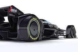 McLaren MP4-X, Designstudie