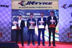 2015 Champions: Pradeep Rao Vadiyam, Ajay Kini, Anindith Reddy, Vishnu Prasad