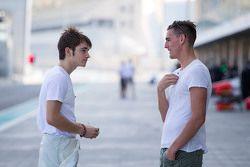 Charles Leclerc, ART Grand Prix avec Kevin Ceccon