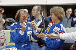 Jacques Laffite e Keke Rosberg, Williams