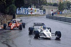 Keke Rosberg, Williams FW08C, Patrick Tambay, Ferrari 126C2B