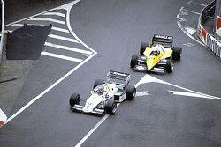 Keke Rosberg, Williams FW08C, Alain Prost, Renault RE40