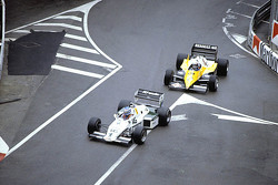 Keke Rosberg, Williams lidera a Alain Prost, Renault F1 Team