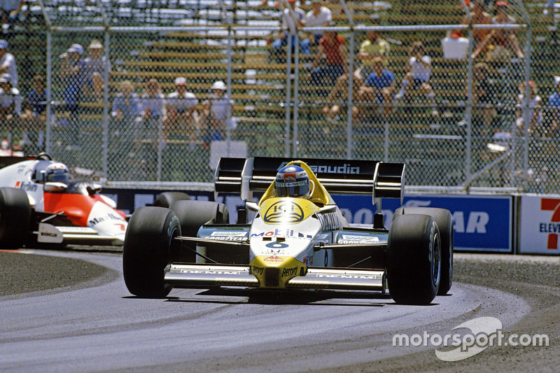3. Keke Rosberg - Williams FW09-Honda - 1984 Dallas GP