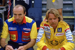 Frank Williams et Keke Rosberg, Williams