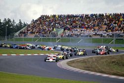 Keke Rosberg, Williams in trouble on first lap