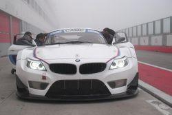 Stefano Valli prova la BMW Z4 GT3 ad Adria