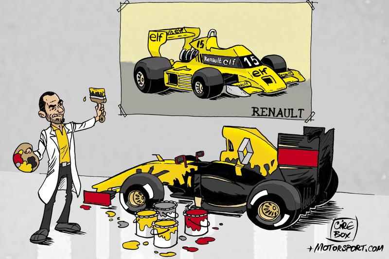 Le retour de Renault en F1