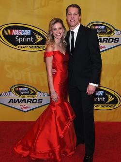 Brad Keselowski, Team Penske Ford dengan kekasihnya Paige White