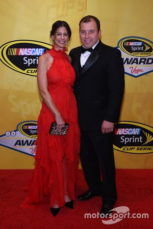 Ryan Newman, Richard Childress Racing Chevrolet mit Ehefrau Krissie