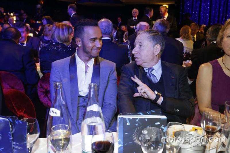 Lewis Hamilton e Jean Todt