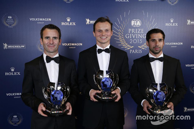 Third place in the WEC was Porsche's sister line-up of Romain Dumas, Marc Lieb and Neel Jani.