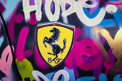 Detail of the Ben Levy Ferrari F431