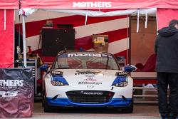 #55 Mazda USA, Mazda MX-5 Cup: Taz Harvey, Richard Fisher, Randy Miller